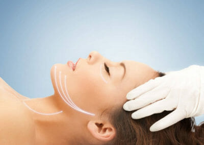 Medical procedures in Dana Clinic, Prague 9, Hyaluronic acid and Botox® injection treatments.