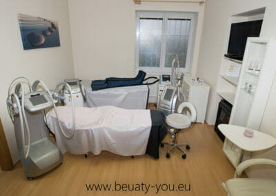 Room for painless liposuction, Dana Clinic, Prague 9, Kbely