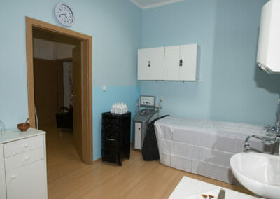 Room for oxygen mesotherapy, Dana Clinic, Prague 9, Kbely