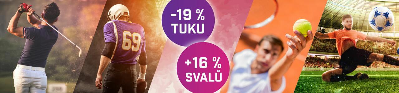 EMSCULPT pro sportovce, to je úbytek tuku až o 19 % a nárůst svalů až o 16 %, Beauty Studio Dana, Praha9