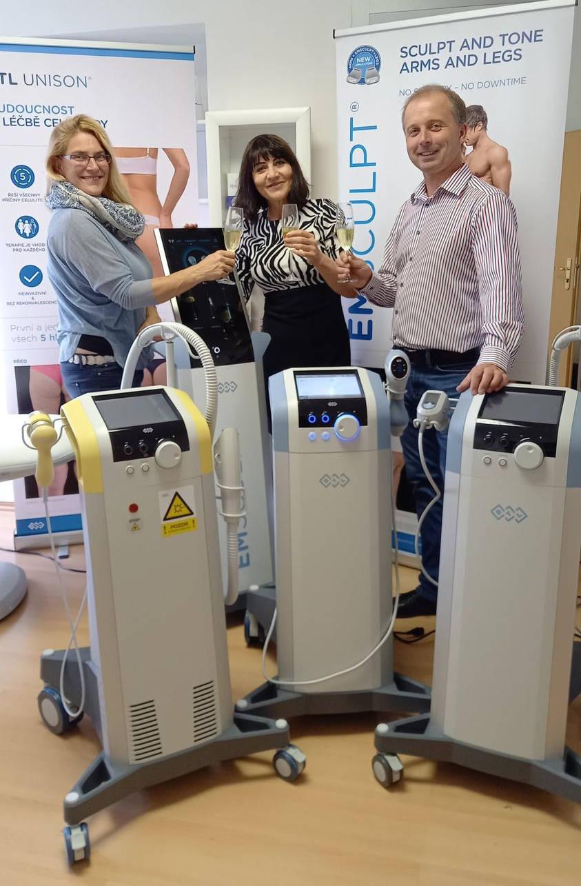Nové nejmodernější přístroje od firmy BTL – nové fenomény v estetické medicině - výsledky jsou jako zázrak. Autorizovaný partner Beauty studio Dana, Praha 9